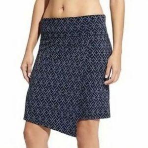 Athleta Seaside Moroccan Faux Wrap Skirt